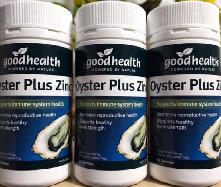 Thuốc tăng cường sinh lý nam Oyster Plus Zinc