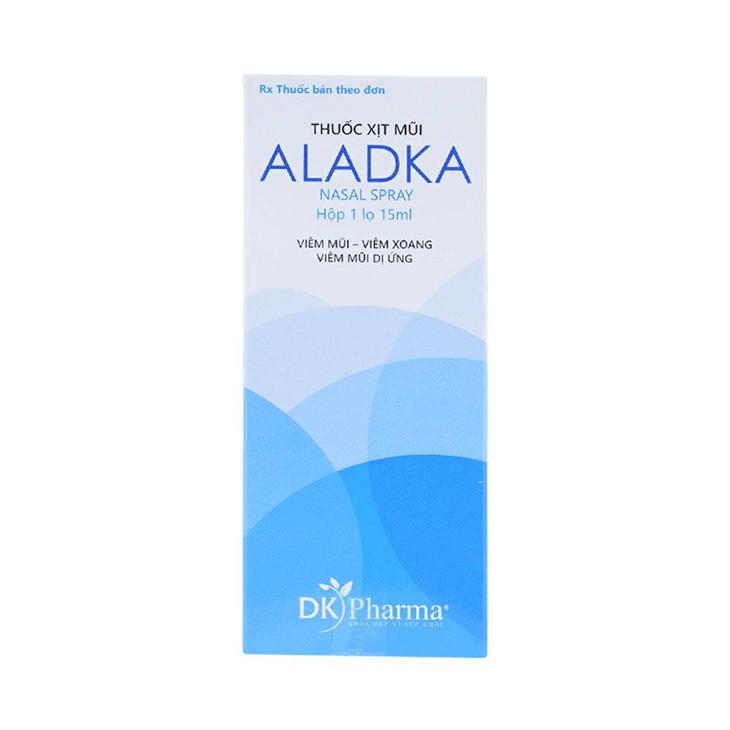 Thuốc xịt mũi Aladka trị viêm mũi dị ứng