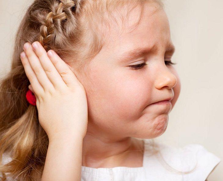 Viêm tai giữa khiến trẻ bị suy giảm thính lực