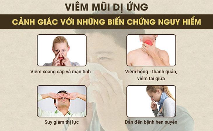 Bệnh viêm xoang mũi dị ứng và những hệ quả nếu không điều trị