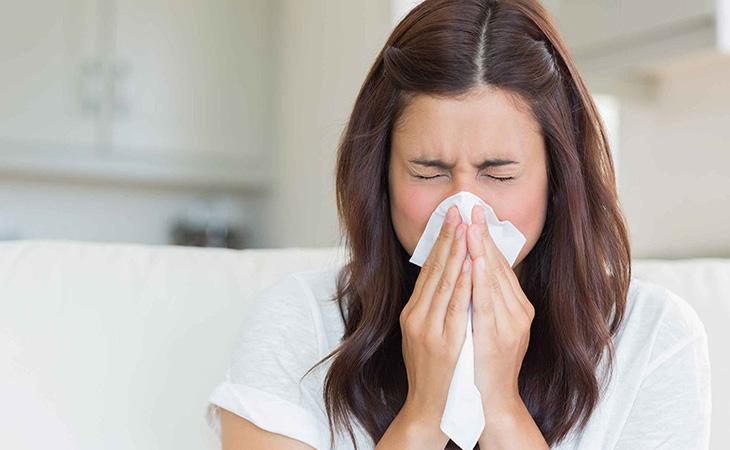 Hình ảnh mô tả bệnh viêm xoang mũi dị ứng