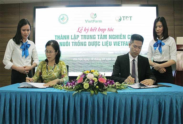 Thỏa thuận đặt mục tiêu phát triển Vietfarm lên hàng đầu