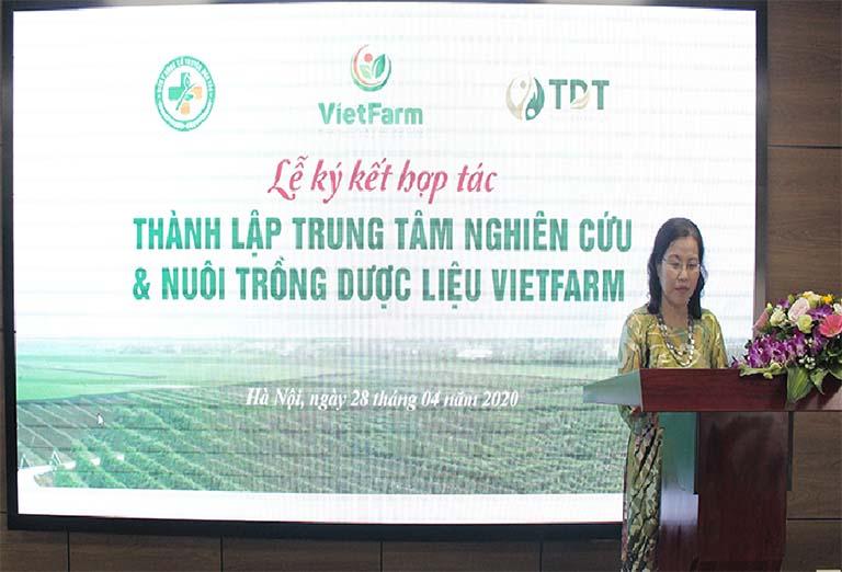 Phát biểu của Tiến sĩ-Bác sĩ Nguyễn Thị Vân Anh