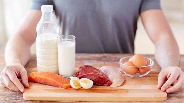 Chữa tinh trùng bị vón cục bằng chế độ ăn uống lành mạnh