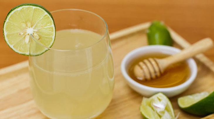 Uống nước chanh pha loãng trị bệnh hiệu quả