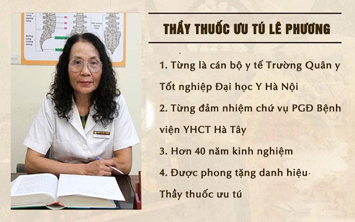 Bác sĩ Lê Phương được Nhà nước phong tặng danh hiệu Thầy thuốc Ưu tú