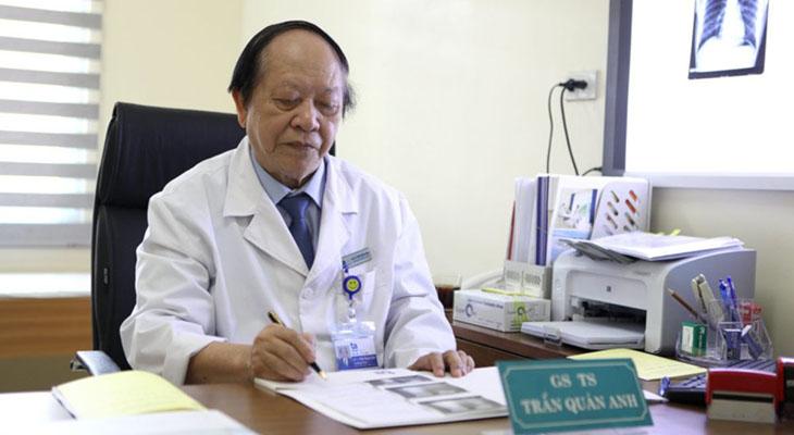 Giáo sư Trần Quán Anh điều trị liệt dương hàng đầu tại Việt Nam