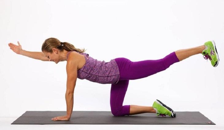 Bài tập giúp rèn luyện khớp lưng, đĩa đệm