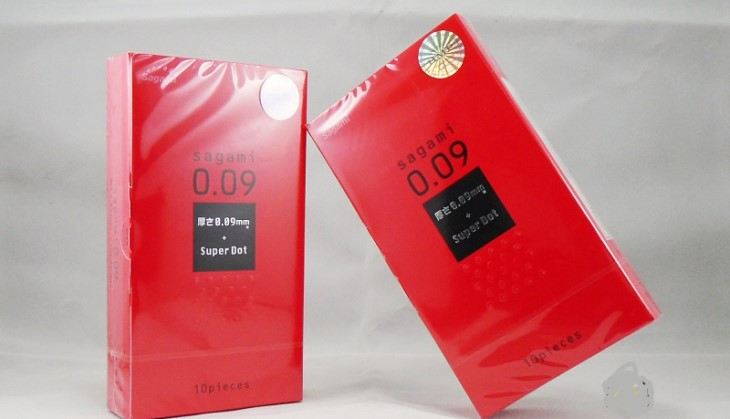 Bao cao su Sagami Super Dot luôn nằm trong top những sản phẩm bán chạy nhất tại Nhật Bản