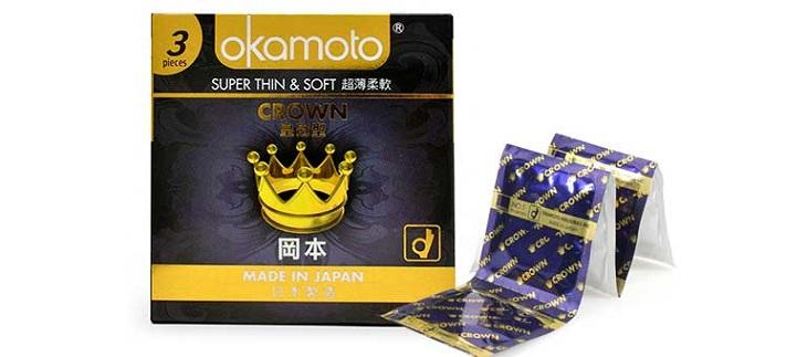Bao cao su Okamoto Crown