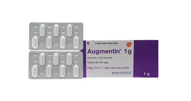 Thuốc trị viêm amidan cho trẻ em Augmentin