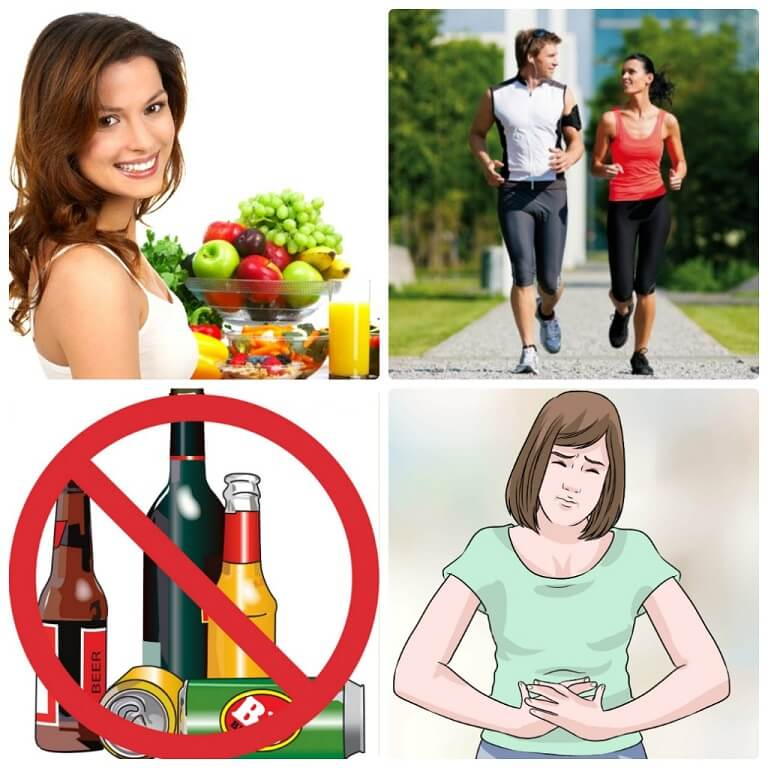 Chế độ ăn uống lành mạnh và thói quen vận động cơ thể là cần thiết