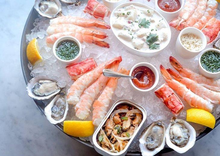 Nên tránh xa các loại hải sản gây nguy cơ dị ứng cao