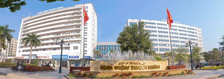 Thanh Nhàn là 1 trong 7 bệnh viện hạng I của thành phố Hà Nội