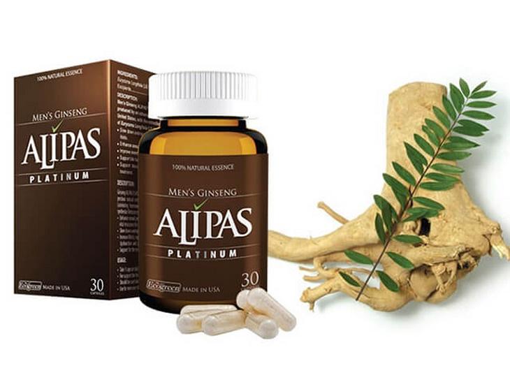Sâm Alipas Platinum chiết xuất từ tự nhiên