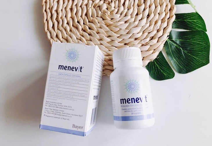 Thuốc hỗ trợ nam giới cải thiện chất lượng tinh trùng Menevit