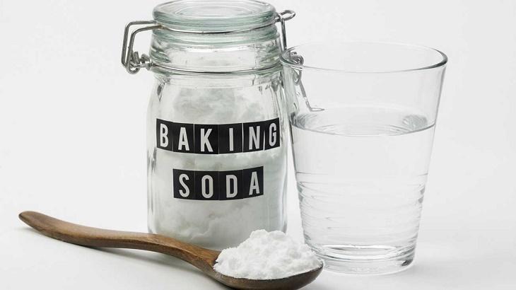 Baking soda có tác dụng gì với da?