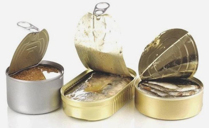 Thực phẩm đóng hộp chứa nhiều chất bảo quản