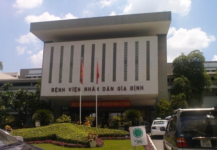 Trụ sở chính của bệnh viện Gia ĐỊnh