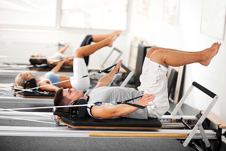 Điều trị chứng cương dương bằng bài tập pilates