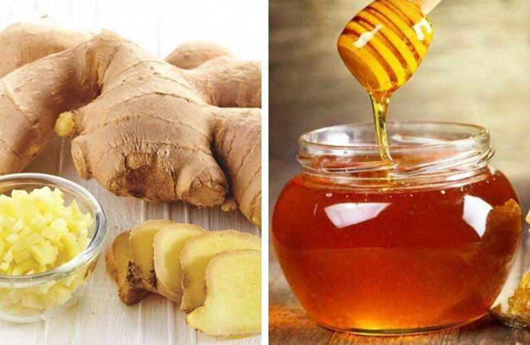 Bài thuốc kết hợp mật ong và gừng