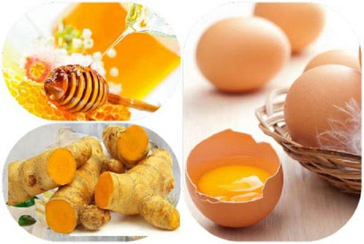 Chữa xuất tinh sớm bằng trứng gà, nghệ tươi và mật ong