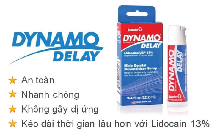 Thuốc chống xuất tinh sớm Dynamo được nam giới trên toàn thế giới tin dùng