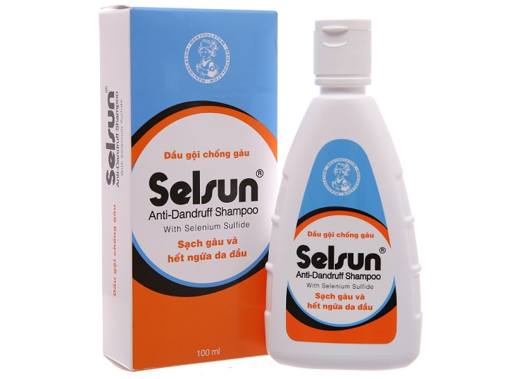 Dầu gội Selsun được nhiều người tin dùng để điều trị ngứa và nấm da đầu