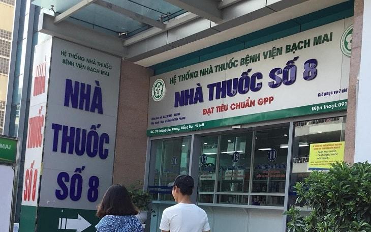 Nhà thuốc bệnh viện Bạch Mai