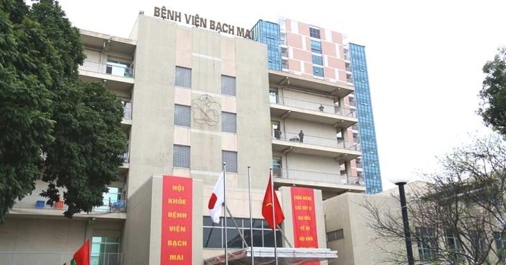 """Bệnh viện Bạch Mai là cơ sở y tế đầu tiên trong cả nước được nhận danh hiệu """"Bệnh viện đa khoa hạng đặc biệt"""""""