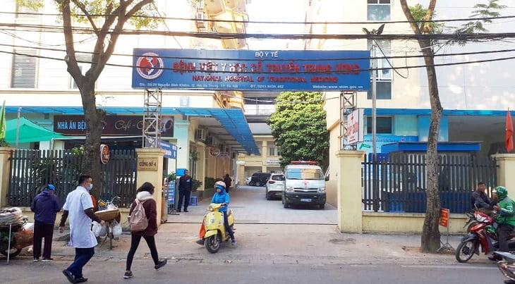 bệnh viện tuyến cao nhất về Y học cổ truyền tại miền Bắc
