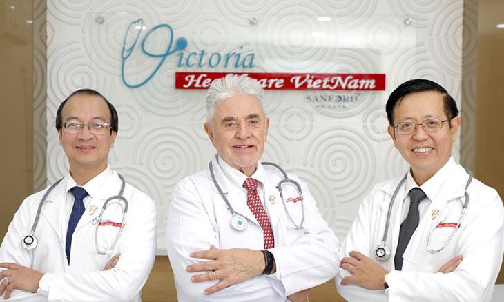 Các bác sĩ ở phòng khám quốc tế Victoria Healthcare