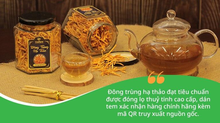 Mỗi sản phẩm đông trùng hạ thảo Vietfarm đều được tuân thủ theo quy trình nuôi cấy, sản xuất và lưu hành nghiêm ngặt