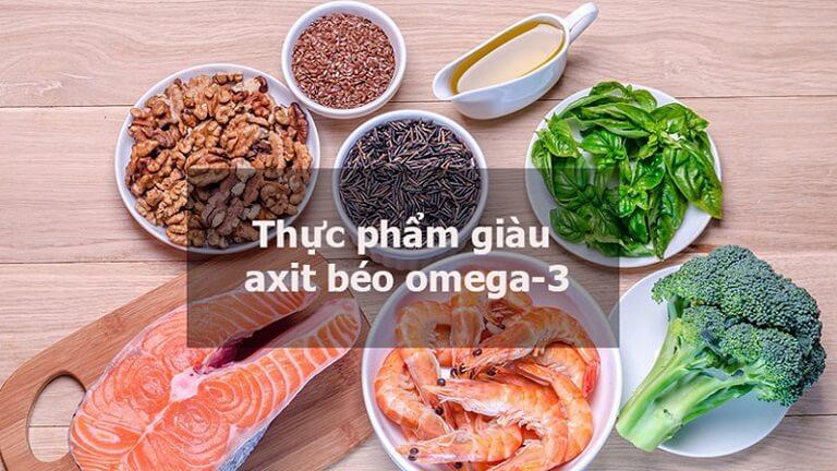 Thực phẩm chứa axit béo omega - 3 rất tốt cho người bệnh về đại tràng