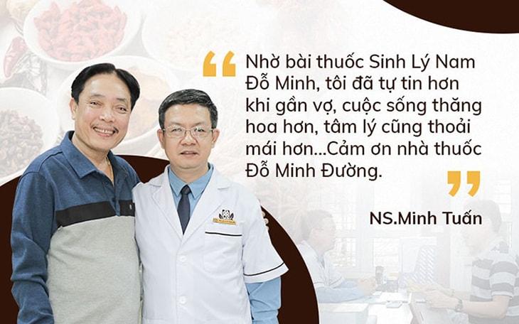 NSUT Minh Tuấn chữa thành công chứng suy giảm ham muốn tại Đỗ Minh Đường sau 3 tháng