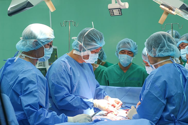 Phương pháp phẫu thuật được chỉ định khi bệnh chuyển nặng