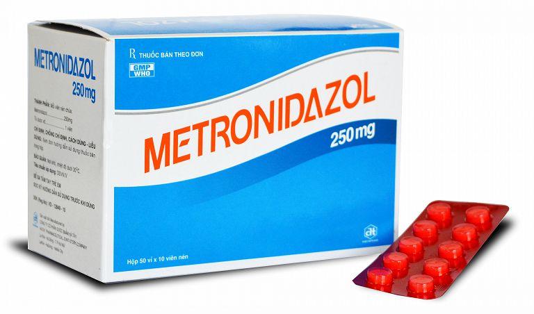 Metronidazole chữa viêm đại tràng hiệu quả