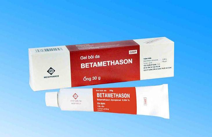 Sản phẩm trị ngứa Betamethason gel 30g