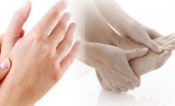 Mu bàn tay, bàn chân dễ bị nổi mẩn đỏ khó chịu
