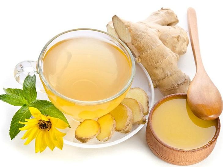 Hỗn hợp nước gừng mật ong hỗ trợ điều trị liệt dương