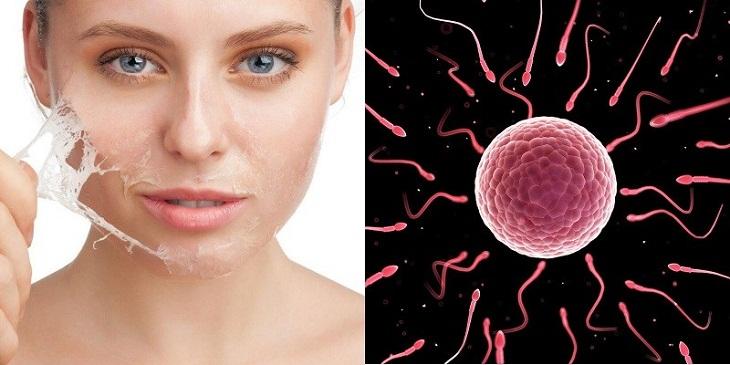 Nuốt tinh trùng giúp làm đẹp da, chống lão hóa