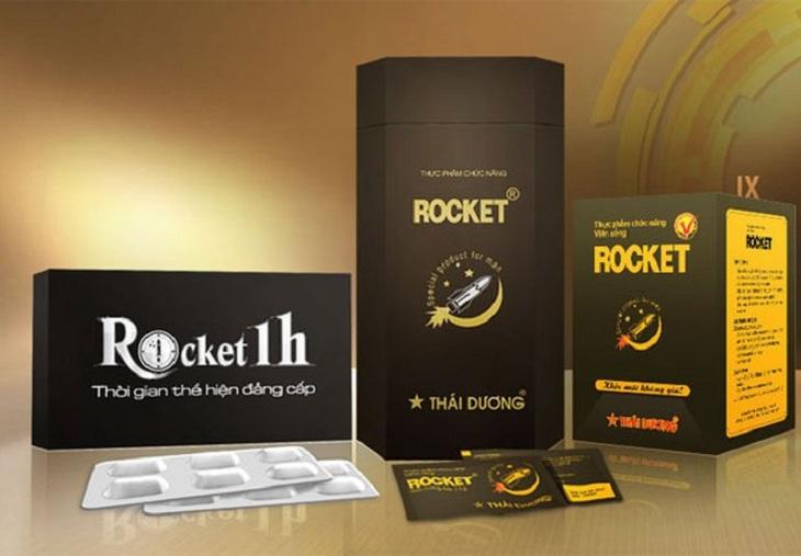 Quy cách đóng gói và giá bán của thuốc chống xuất tinh sớm Rocket