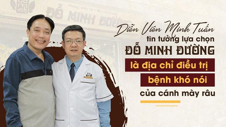 """NSƯT Minh Tuấn lựa chọn Đỗ Minh Đường làm địa chỉ điều trị """"bệnh khó nói"""" của đàn ông"""