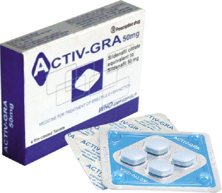 Tác dụng của thuốc Activ Gra