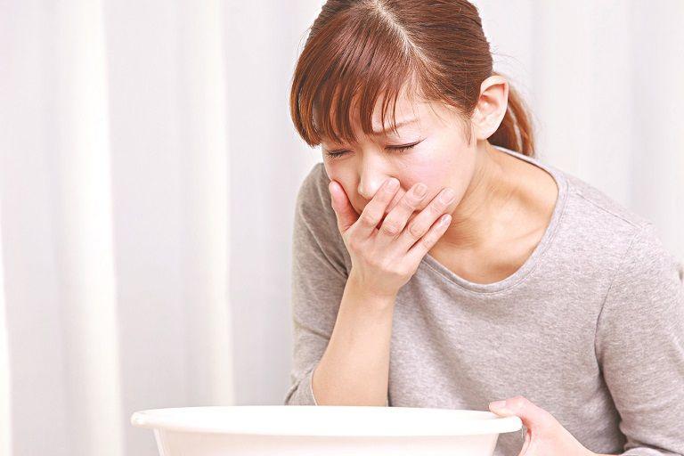 Thuốc viêm đại tràng inberco có thể gây ra các tác dụng phụ như nôn mửa