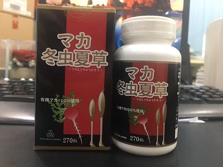 Maca Tochukaso, sản phẩm hỗ trợ sinh lý nam được nhiều người tin dùng