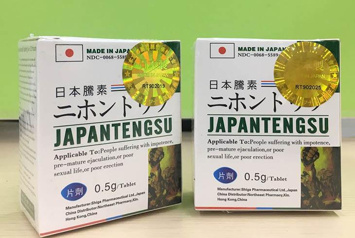 Japan Tengsu – Thuốc chống xuất tinh sớm của Nhật