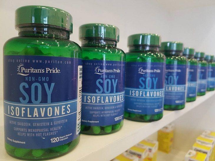 Viên uống chữa lãnh cảm nữ giới Soy Isoflavones