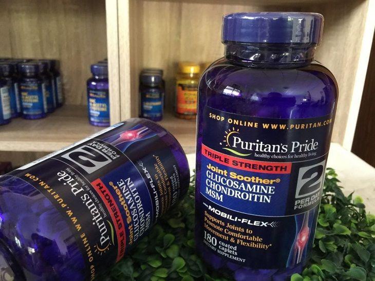 Puritan's Pride MSM là thuốc chữa thoái hóa cột sống nhập khẩu từ Mỹ
