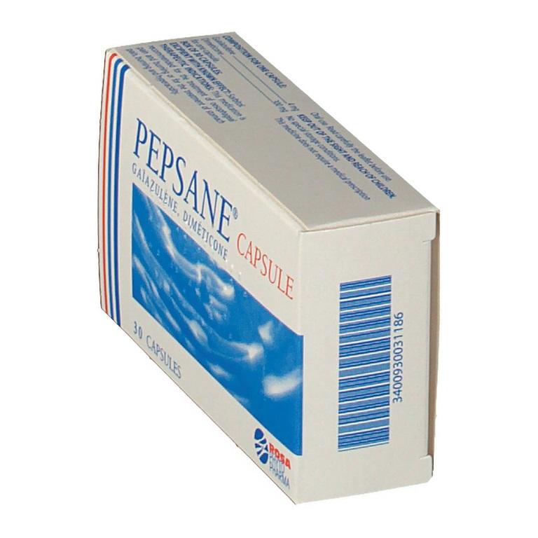 Pepsane để loại bỏ triệu chứng chướng bụng